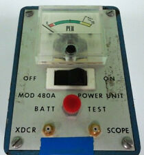 PCB Piezotronics Power Unit 480A 480-A 18DCV Constant I2MA Meter TESTED 30 Day
