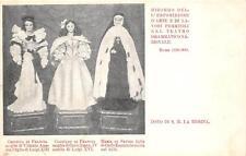 C4142) ROMA 1899 LAVORI FEMMINILI, BAMBOLE CRISTINA E CLOTILDE DI FRANCIA.