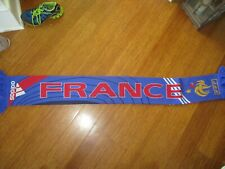 France Rugby Soccer Football French World Cup Scarf Official licensed Adidas So