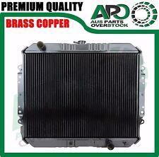 Copper Brass Radiator For HOLDEN RODEO TF G3 G6 G7 Series Diesel 88-02 Manual
