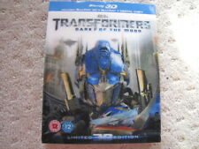 Transformers Dark Of The Moon Limited 3D Edition Blu-ray Lenticular 3D Cover