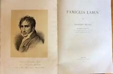 1875 FAMIGLIA LABUS BRESCIA DAMIANO MUONI