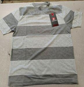 Road Block Short Sleeve V neck T shirt  Gray Boys (2A)