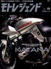 [BOOK] Moto Legend 2016 #2 Suzuki Katana GSX1000S GSX1100S Yoshimura 1135R corse