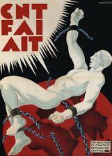 CNT, 1937, Spanish Civil War Propaganda Poster