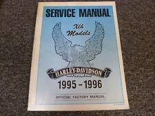 1995-1996 Harley Davidson Sportster XLH 883 Deluxe Hugger Service Repair Manual
