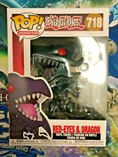 Funko Pop Red-Eye Black Dragon #718 Yu-Gi-Oh w/ Protector