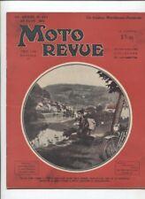 Moto Revue N°693  ; 20  juin   1936 :  motobécane avec sidecar Bernardet