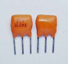 5pcs NEW 16.0MHz 16.000 MHz 3-PINS CERAMIC RESONATOR Oscillator same as picture
