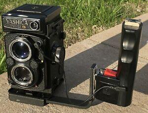 Yashica Mat 124G ~ Medium Format TLR Film Camera Honeywell Handle ~ Parts Repair