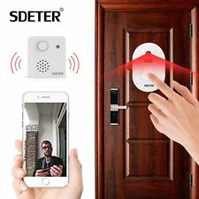 WIFI Doorbell Home Security Camera Cloud Storage Night Vision Push Door Viewer