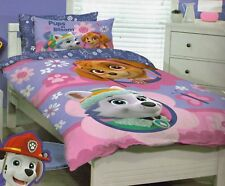 Girls Kids PAW PATROL Pups in Bloom SINGLE Duvet/Doona/Quilt Cover SET BNIP