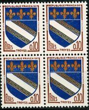 Timbres bleus avec 2 timbres