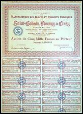 Saint-Gobain, Chauny & Cirey, Manufacture des glaces N° 0206489