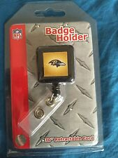 Baltimore Ravens LOGO  ID Badge Holder NWT Free Shipping