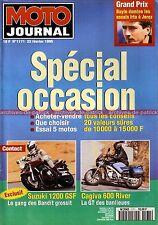 MOTO JOURNAL 1171 SUZUKI 1200 Bandit DR 750 KAWASAKI Z1000 J YAMAHA TZR HONDA CX