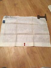 Vellum Indenture 1862 Assignment Of Land Lygoes (Lythgoes) Lane Warrington