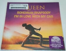 """QUEEN BOHEMIAN RHAPSODY I'm In Love With My Car 7"""" Vinyl NEW Sealed 2019 RSD"""