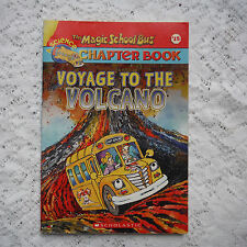 Voyage to the volcano Judith Bauer Stamper The Magic School Bus paperback 2003