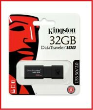 Kingston 32GB USB DataTraveler 100 G3 32G USB 3.0 Flash Pen Drive DT100G3/32GB