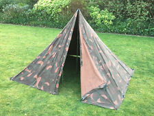 Genuine HUNGARIAN Military 2 Man TEEPEE Tent canvas bushcraft Preppers Army TIPI