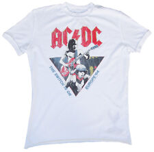 Vintage Amplified Ac/Dc Acdc Europa 84 1984 The Switch Is On ROCK STAR Camiseta