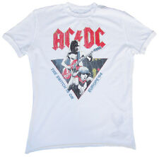 Amplified AC/DC ACDC Europa '84 THE SWITCH Is on rock star Vintage Camiseta M