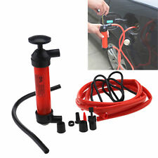 Pompa aspira liquidi benzina a sifone travaso tubo gomma gasolio diesel olio