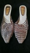 zhenzhen  softwear shoes women's 4  5 silver unusual design  38