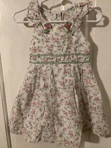 Toddler Girl's Floral Print Tank Dress, size 2T