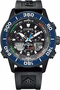 Citizen Watch Promaster Eco Drive MARINE Series Yacht Timer Limited Edition