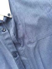 Unbranded Classic Fit No Pattern Regular Men's Formal Shirts