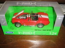 BY WELLY DIECAST - 1965 SHELBY COBRA 427 SC - 1:24 Scale