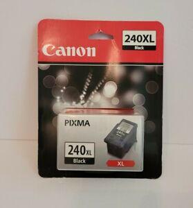 One Genuine Canon PG-240XL Black Ink Cartridge