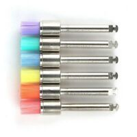 Nylon 100 pcs Mixed Color Latch Flat Polishing Polisher Prophy Bowl Dental Brush