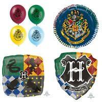 HARRY POTTER BALLOONS 8x Latex or Foil Round Square Shield Shape Helium BALLOON