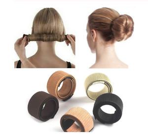Synthetic Wig Donut Magic Hair Bun Maker Bud Hair Band Style French Twist DIY