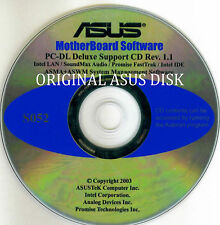 ASUS GENUINE SERVER SUPPORT DISK PC-DL DELUXE SERVER  S052
