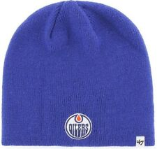 47 Brand Edmonton Oilers NHL Beanie Royal Beany Hat One Size Mütze Forty Seven