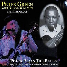 DAMAGED ARTWORK CD Peter Green: Peter Plays The Blues (w/Nigel Watson)