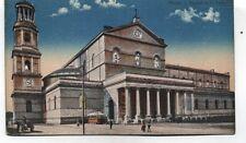 Tram Basilica di S Paolo, Roma Rome Italia Italy unused 1900s postcard