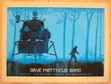 Dave Matthews Band Poster 2013 Cynthia Woods Mitchell Pav Woodlands TX #/685