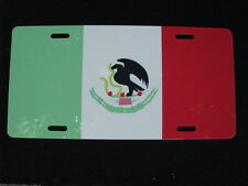 License Plate, NEW-Flag of MEXICO-