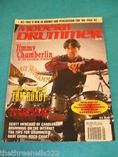 MODERN DRUMMER - JIMMY CHAMBERLIN - MAY 1996