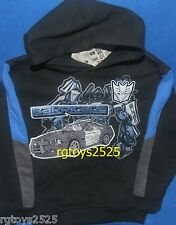 Transformers Barricade Police Pullover Hoodie Size 4 5 6 New Sweatshirt child