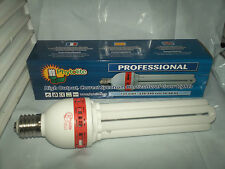 Lampada CFL bulbo bulb 125W white 6400°K blue vegetativa crescita growing indoor