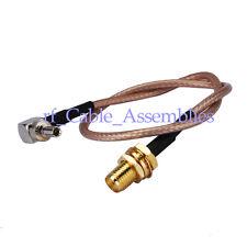 RP-SMA female to CRC9 pigtail cable for HuaWei E176 E176G E182 E1820 E196E E196G