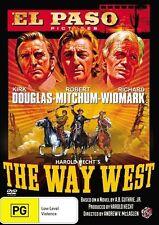 The Way West Kirk Douglas Robert Mitchum Richard Widmark Region 4 DVD VGC