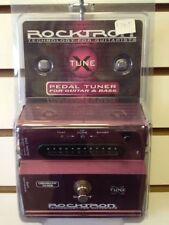 BRAND NEW Rocktron X-Tune Chromatic Tuner Xtune Guitar Bass Effect Pedal !!