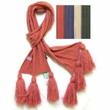Cable De Punto Bufanda Con Borla, Elección del Color Polvo de Diseño de Harvard hecho por